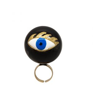 Evil Eye bulle ring